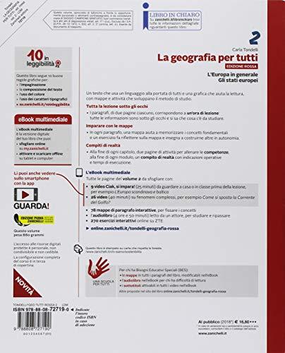 La geografia per tutti. Ediz. rossa. Per la Scuola media. Con e-book: 2