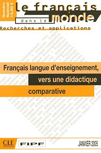 Vers une didactique comparative - R&A n°38 - Janvier 2005 par Fabienne Lallement, Pierre Martinez, Valérie Spaëth