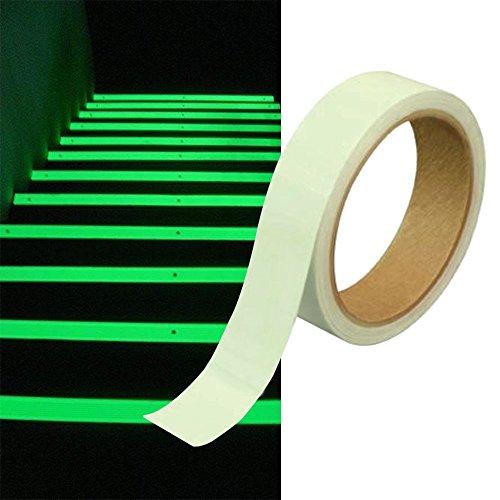 Klebeband Markierungsband Leuchtband nachtleuchtend Glow Klebebandabroller (Glow Tape)