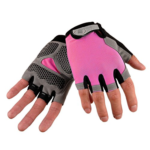 Preisvergleich Produktbild Sommer Outdoor Sonne Reiten Bergsteigen Anti-Rutsch Fitness Sport Handschuhe, 2-OneSize
