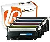 Bubprint 4 Toner kompatibel für Samsung CLT-K406S CLT-C406S CLT-M406S CLT-Y406S für CLP-360 CLP-365 CLP-365W CLX-3300 CLX-3305 Xpress C410W C460FW