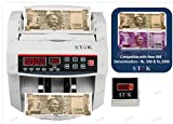 StoK ST-MC01 Compatible New INR Rs.500 & Rs.2000 Notes Counting Machine with Fake Note Detector
