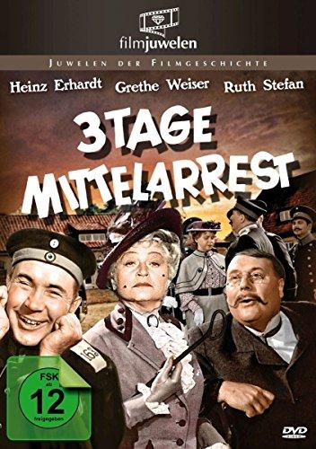 Drei Tage Mittelarrest - mit Heinz Erhardt (Filmjuwelen) Preisvergleich
