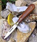 36831 - Coltello per ostriche, realizzato a mano, con tutti i materiali naturali
