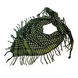 Higlles Point Coloré Plaid Écharpe- Shemagh Keffiyeh Foulards Longue de cou de Châle de Laine de Cachemire de Châle
