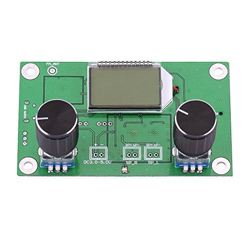 Mini Digital FM Radio Wireless Receiver Modul LCD Display DSP PLL