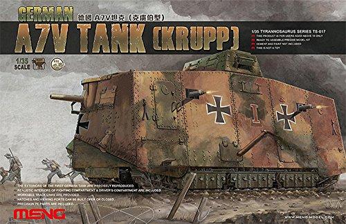 Unbekannt Meng TS017 - 1/35 A7 V Krupp Panzer
