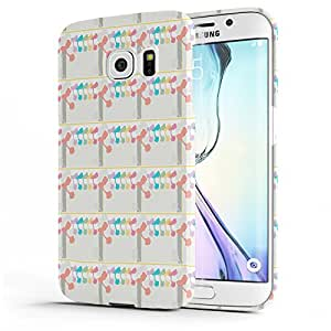 Koveru Designer Printed Protective Snap-On Durable Plastic Back Shell Case Cover for Samsung Galaxy S6 EDGE - Splot