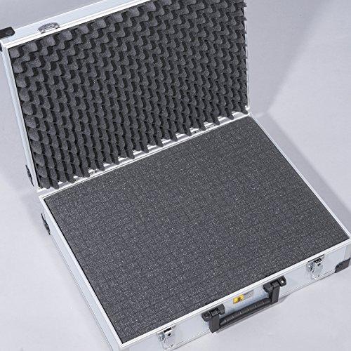 AluPlus Foam 44/2 Schaumstoff-Set, 2-teilig,Noppen- und Würfelschaum - 4