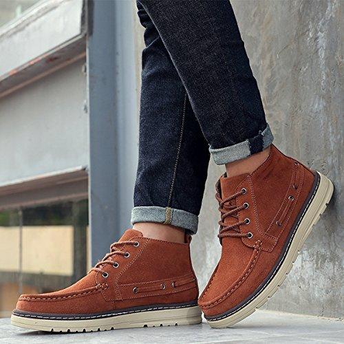 Miyoopark , Chaussures bateau pour homme Marron