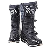 FidgetGear TR Off-Road Motorcycle Riding Boots Protective Boots Motocross Riding Equipment Black 43 Yards