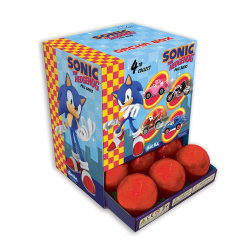 TYE Figuras Sonic the Hedgehog Pullback racers [Set]