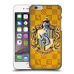 Head Case Designs Offizielle Harry Potter Hufflepuff Kamm Prisoner of Azkaban I Harte Rueckseiten Huelle kompatibel mit iPhone 6 / iPhone 6s