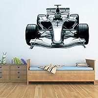 F1 Race Car Wall Sticker bambini Ragazzi Camera Sport Adesivo Home Decor disponibile in 8 taglie Gigantesco
