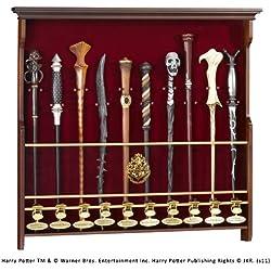The Noble Collection Varitas de exhibición de varita de diez personajes de Harry Potter Varitas no incluidas