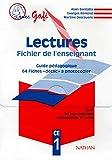 Gafi CE1, fichier pour l'enseignant. Guide du maître + fiches déclic à photocopier