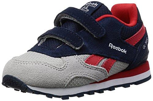 Reebok Bd2440, Scarpe da Trail Running Bambino Blu (Collegiate Navy/Skull Grey/Primal Red/Wh)