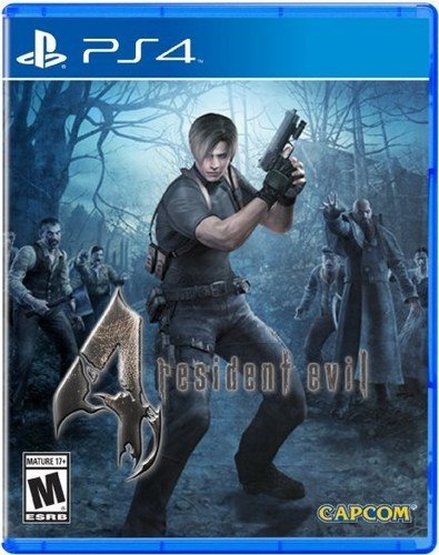 Resident Evil 4 HD PS4 Playstation 4 Region Free Multilingua in italiano