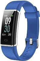 Willful Fitness Armband mit Pulsmesser,Wasserdicht IP68 Fitness Tracker Farbbildschirm FitnessUhr Aktivitätstracker...