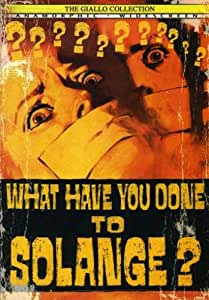 What Have You Done Solange [DVD] [Region 1] [US Import] [NTSC]