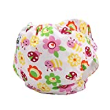 Baby Swim Diaper neonati riutilizzabili regolabile a tenuta da ragazzo copertura impermeabile traspirante pantaloni Sun Flower