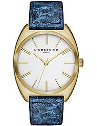 Liebeskind Berlin Unisex Reloj Brand New Snake de pulsera analógico cuarzo piel LT de 0035 de LQ