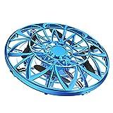 Bweele UFO Mini Drone, UFO Jouet Volant RC Flying Ball Mini Jouet Volant Soucoupe Drone Drone Main Driven RC Quadricoptère avec Télécommande pour Garçons Filles