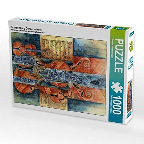 Brandenburg Concerto No 4 1000 Teile Puzzle hoch