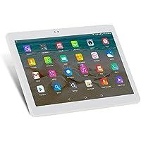 ibowin® 10.1Inch 2G RAM 32G ROM MediaTek Quad Core 3G telefoniche Tablet PC 1280X 800IPS risoluzione 3G WCDMA 2100MHz/2G GSM WIFI GPS Bluetooth Dual-SIM scheda (Argento)