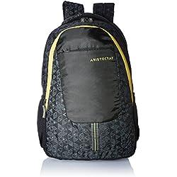 Aristocrat Revo 30 Ltrs Black Casual Backpack (BPREVO2BLK)