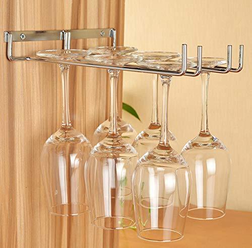 Elegant Glass Drying Rack//Wine Glasses Rack//Retro red Wine Cup Holder Wine Glass Holder stemware Racks,Holder Storage,Bronze Three Rows. JUNSHUO Stainless Steel Wine Glass Hanger