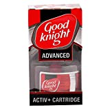 #5: Good knight Plastic Advanced Activ+ Cartridge (Red) 45 ML