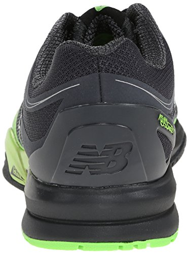 New Balance Mens MX1267 Training Shoe,Black/Green,10 2E US Black/Green