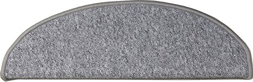 Teppichwahl Stufenmatten Amsterdam - 65x21x4 cm - Grau