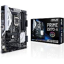 ASUS PRIME Z270-A - Placa base (HDMI, 6 x SATA 3, Crystal Sound 3, 6 x USB 3.0, LGA 1151, Intel HD Graphics, 4 x PCIe 3.0, DDR4-3866 Mhz)