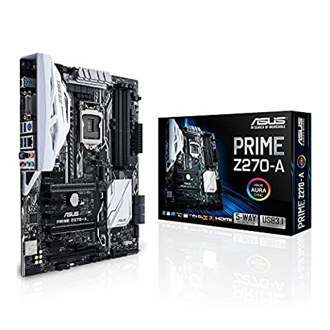 Asus Prime Z270-A Gaming Mainboard Sockel 1151 (ATX, Intel Z270,