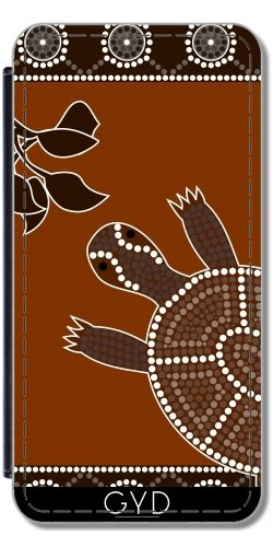 Custodia in PU Pelle per Samsung Galaxy Note 2 (GT-N7100) - Tartaruga by Dedoma
