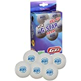 [Sponsored]GKI G-STAR ABS Plastic 40+ Table Tennis Ball, Pack Of 24 (White)