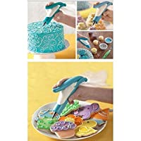 PETRICE Deluxe E-z Deco Icing Pen Cookie Cake Pastry Decorating Set Frosting Icing Piping Bag Tips With Nozzles