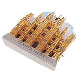 Homyl Decoración de Atracción Turística Mini 3D Diseño de Imán Creativo de Refrigerador Adornos del Hogar - Catedral de Milán