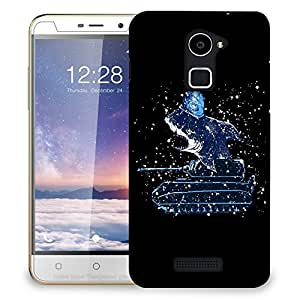 Snoogg Shark Tank Designer Protective Back Case Cover For COOLPAD NOTE 3 LITE