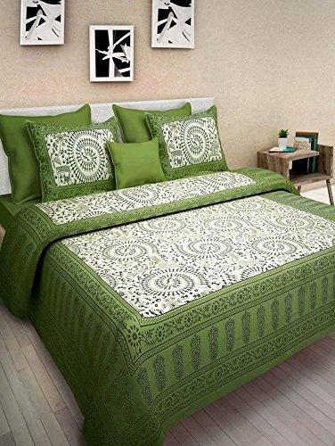 JAIPUR TO HOME Cotton Comfort Rajasthani Jaipuri Traditional king size 1 Double...