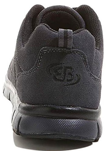 Bruetting 591045, Baskets mode homme grau-schwarz