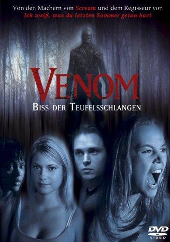 VENOM - Biss der Teufelsschlangen - Horror ungeschnitten DVD