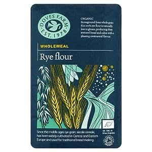 Doves Farm Organic Wholemeal Rye Flour, 1kg