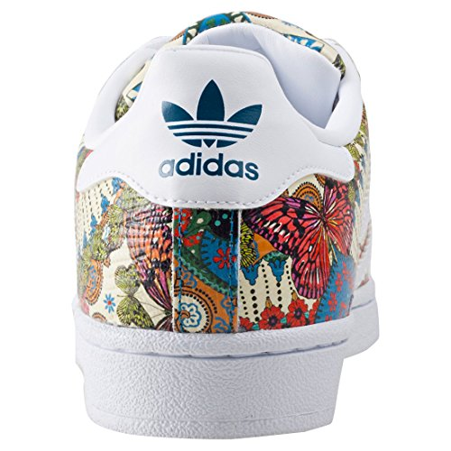 Sneakers Superstar Da Uomo Adidas Blu Verde Bianco
