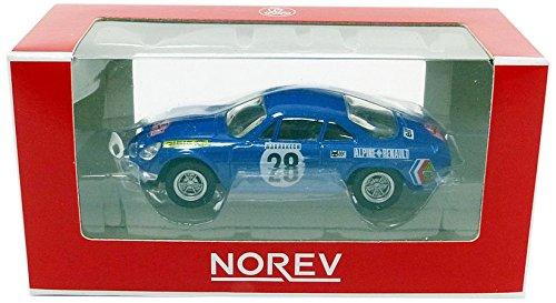 Norev–Miniatur Auto Alpine A 110Monte Carlo 1971Maßstab 1/64, 310703, blau Metall
