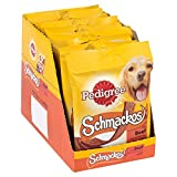 Pedigree Schmackos Dog Treats with Beef, 20 Sticks, 172 g (Pack of 9)