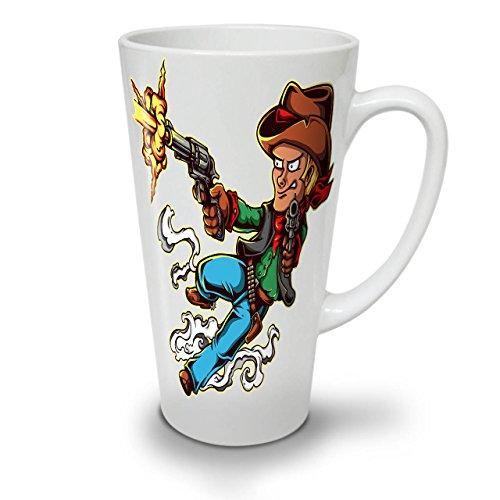 Western Kampf Gangster WeißTee KaffeKeramik Kaffeebecher 17 | (Kostüm Terror Planet)