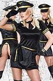 Chilirose Erotik-Kostüm Captain CHILI, 6teilig, NEU, One SIZE